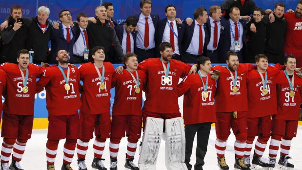 Juegos Olimpicos De Invierno El Equipo De Hockey De Rusia Desafia