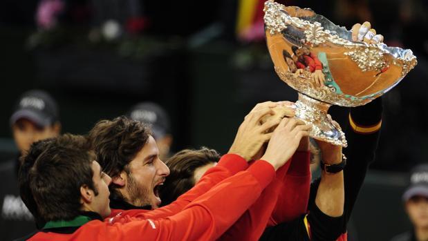 España celebra la última Davis que conquistó, en 2012