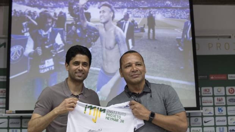 El padre de Neymar: «Mi hijo tiene un futuro en el PSG»