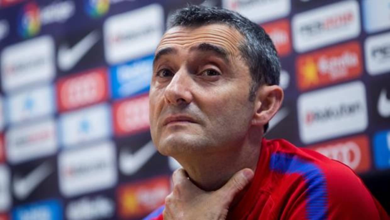 Valverde defiende a André Gomes y no descarta ponerle ante el Chelsea