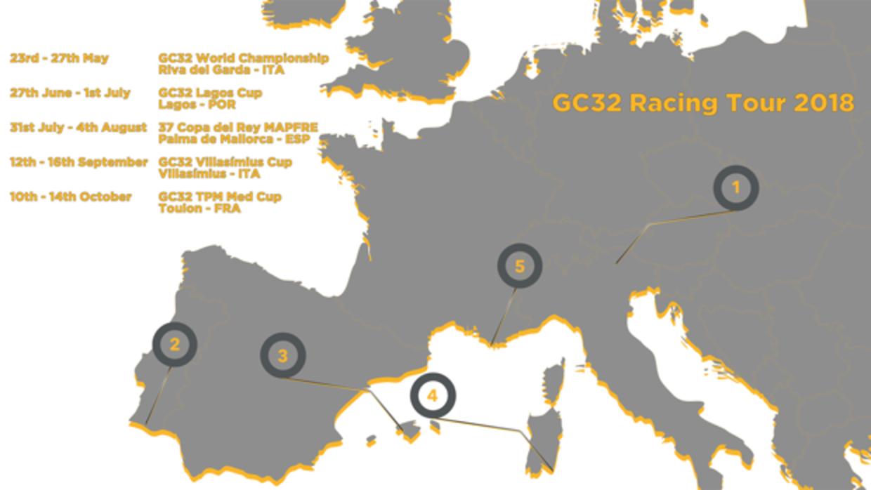Lagos completa el GC32 Racing Tour 2018