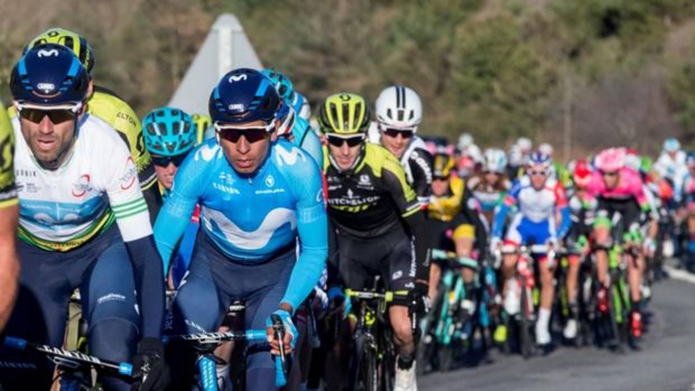 Valverde gana en La Molina y recupera el liderato en la Volta