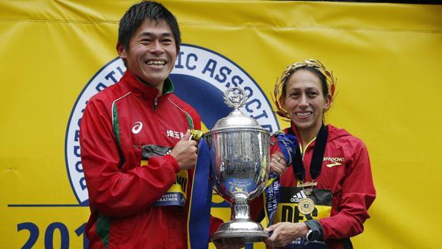 Lawauchi y Linden, vencedores en Boston