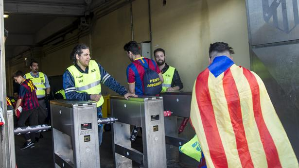 La Federación no impedirá el acceso de esteladas a la final de Copa