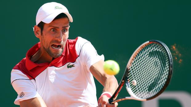 Novak Djokovic, durante su partido contra Thiem