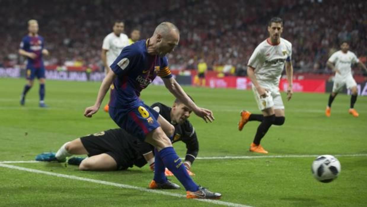 Golazo para despedirse de la Copa del Rey