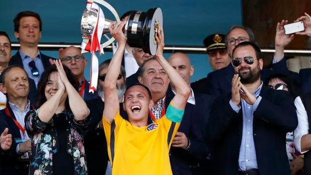 El Atlético de Madrid, campeón de la Copa de Campeones de División de Honor de Juveniles