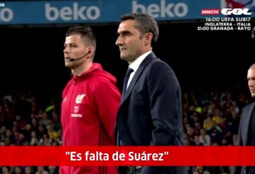 Barcelona-Real Madrid: El mensaje ignorado del cuarto árbitro: «Es ...