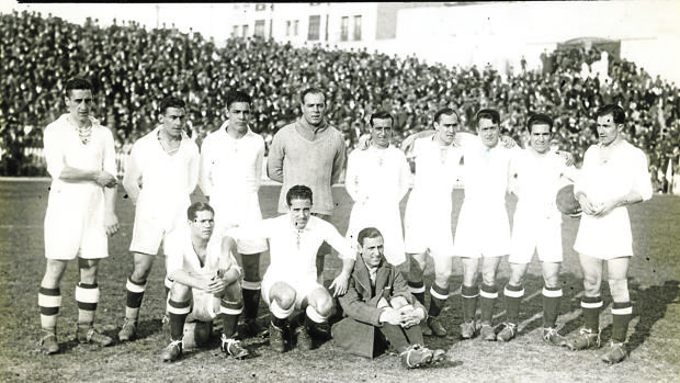 Real Madrid-Barcelona en la temporada de 1932