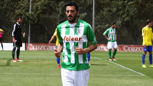 Dani Güiza, jugador del Atlético Sanluqueño