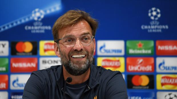 Jurgen Klopp, durante el Media Day del Liverpool