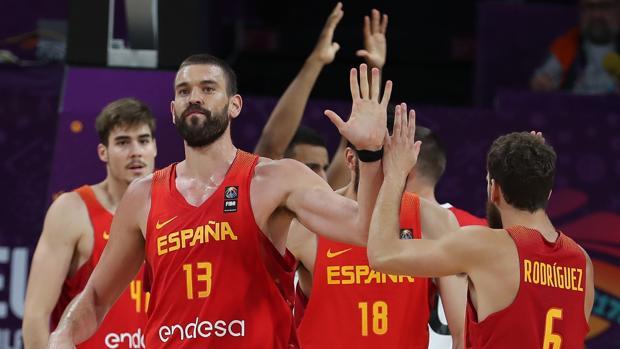 Marc Gasol, el año pasado con la selección en el Eurobasket