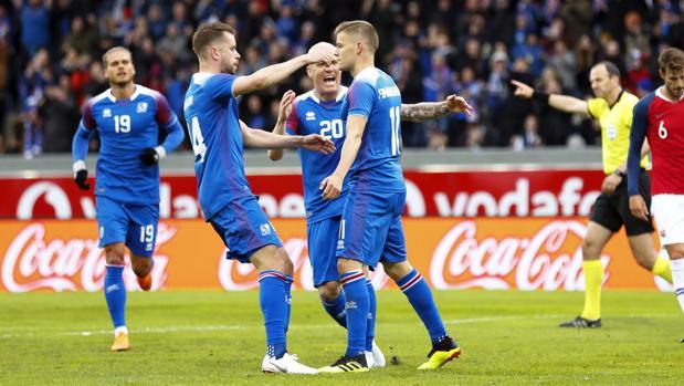 La selección de Islandia es una de las grandes novedades del Mundial de Rusia 2018