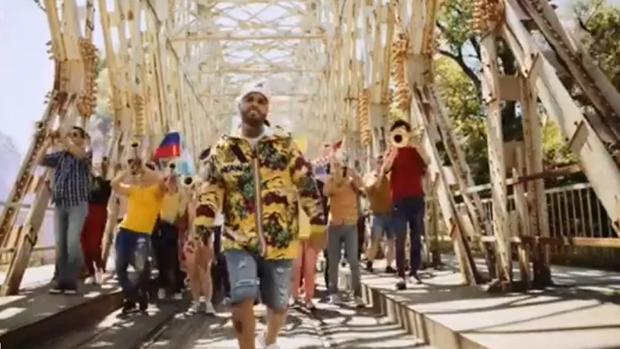 Imagen del videoclip de «Live it Up», la canción oficial del Mundial de Rusia 2018
