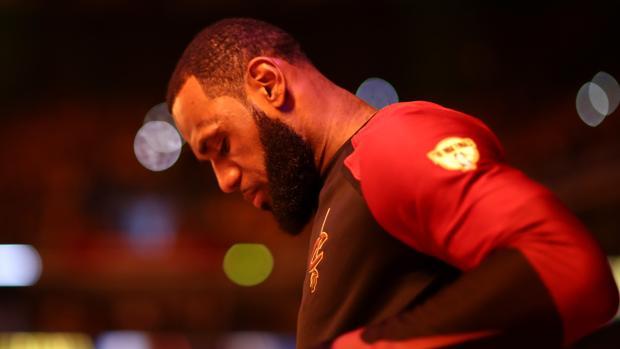 LeBron James, jugador de los Cleveland