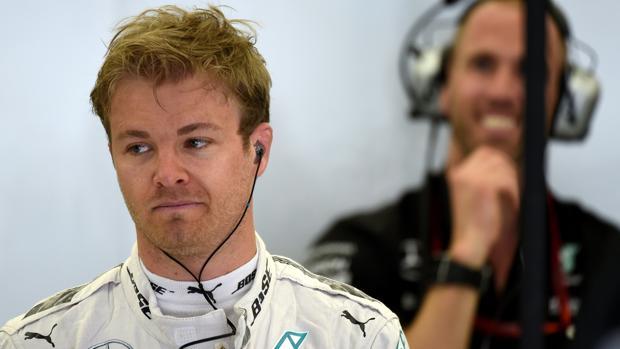 Nico Rosberg durante su etapa como piloto en 2016