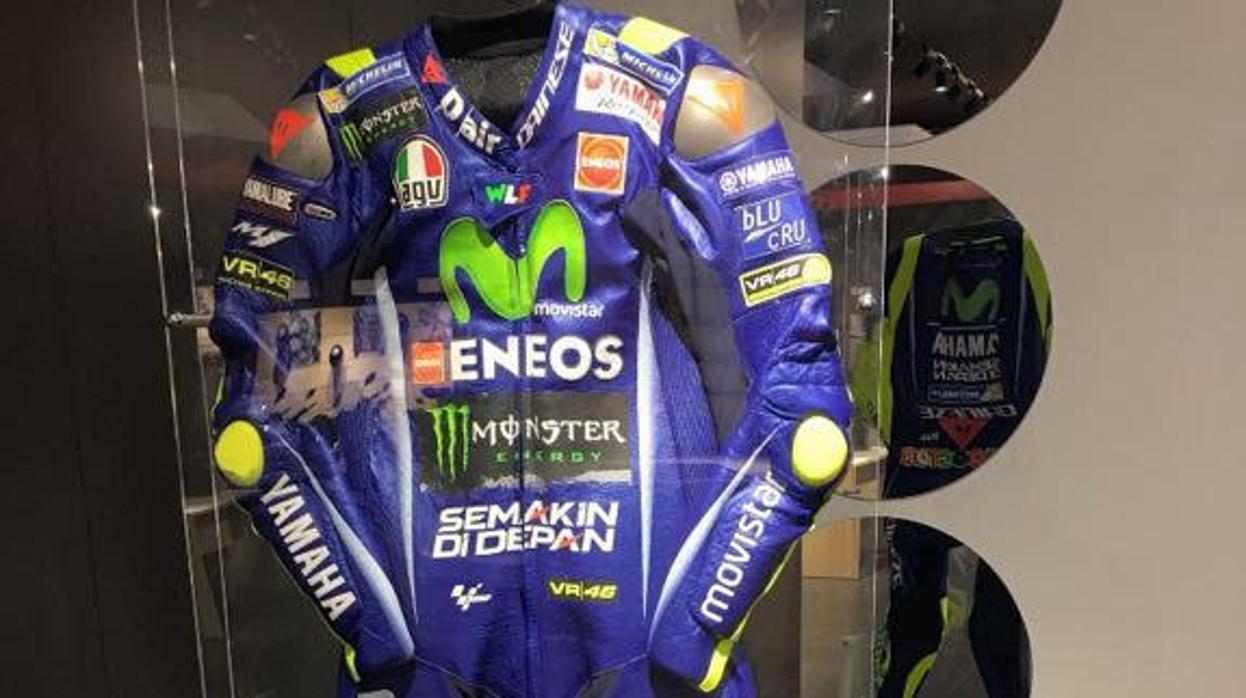Roban un traje de Valentino Rossi en Galicia