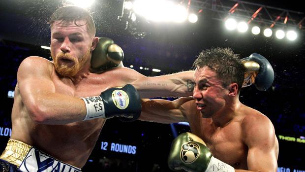 Canelo Álvarez y Golovkin protagonizaron un primer combate que terminó en nulo
