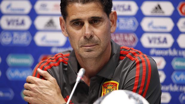 Fernando Hierro, el nuevo seleccioandor español