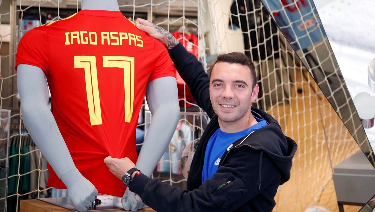 Mundial Rusia 2018  Iago Aspas  «Soy el primero en celebrar los goles de  Costa» 5fc30cd081340