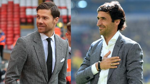 Xabi Alonso y Raúl, dos leyendas para el banquillo del Real Madrid