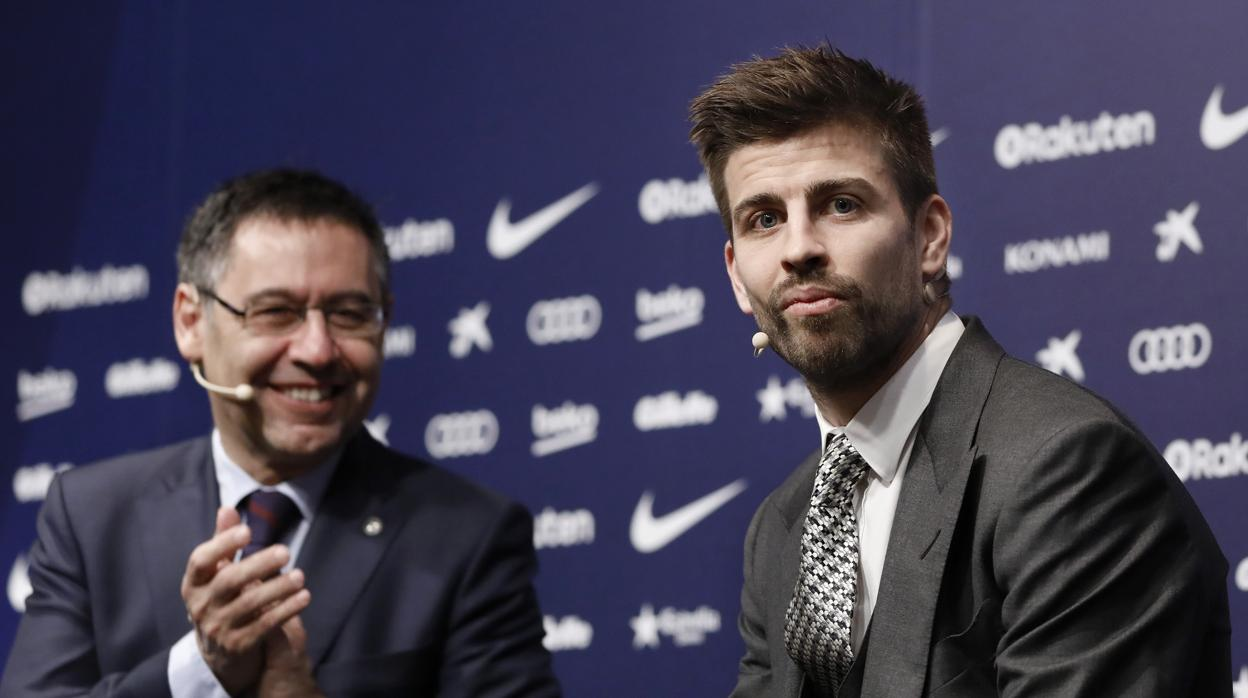 Piqué responde a las críticas del Barcelona