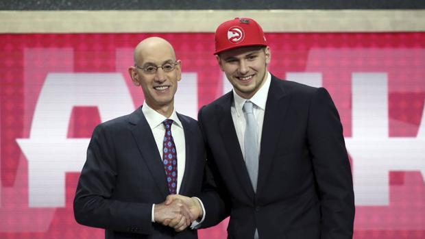 Luka Doncic, elegido por los Hawks y traspasado a los Mavericks