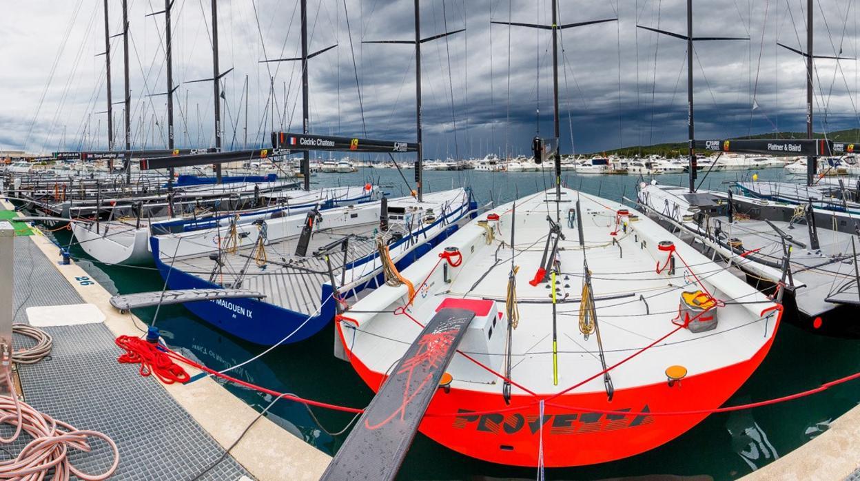 El Bora obliga a cancelar las pruebas del día en la Zadar Royal Cup