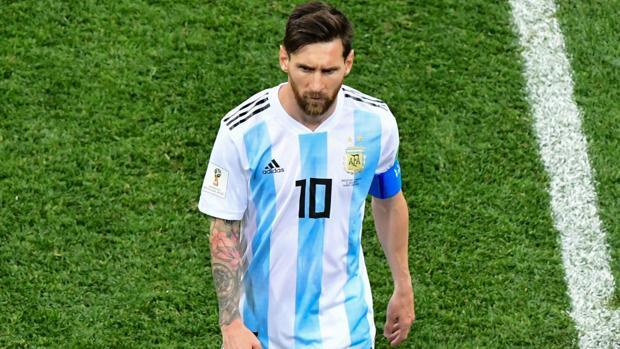 f1859e39fb617 Mundial Rusia 2018 Leo Messi en su último partido con Argentina