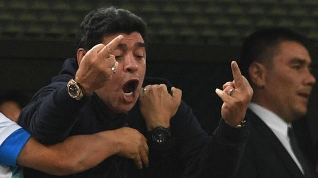 Polémico  Maradona criticó a la selección