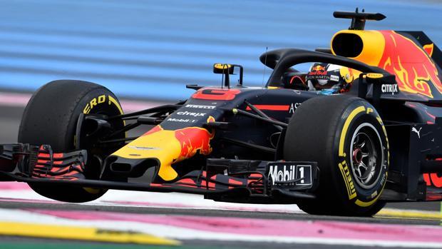 Ricciardo, al volante del Red Bull