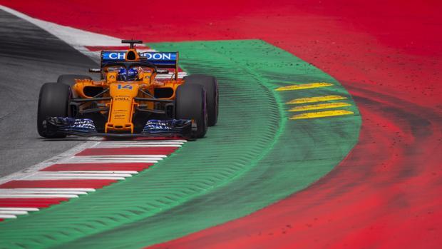 Espectacular remontada de Alonso