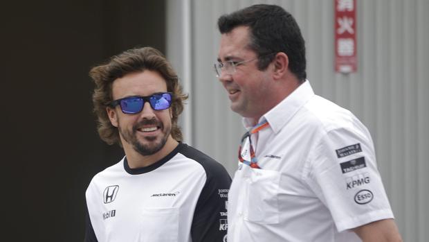 Alonso y Boullier, en una imagen de archivo
