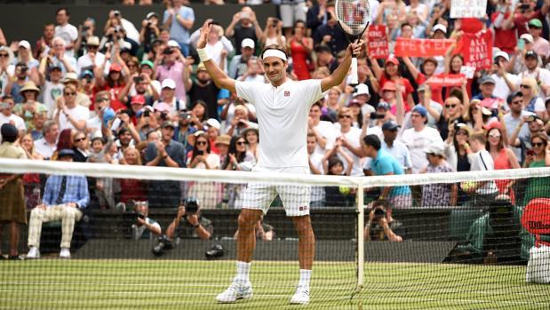 Roger Federer, tras batir a Lacko