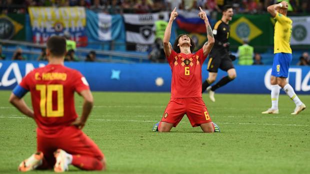 Resultado Brasil Belgica
