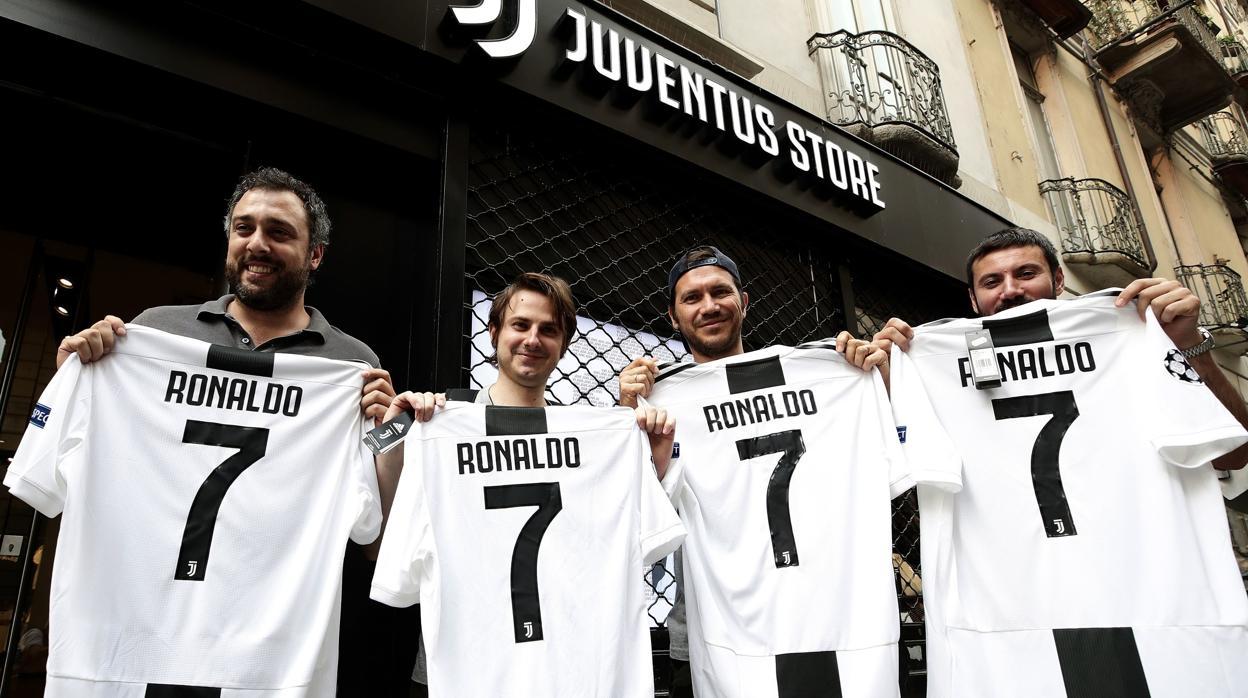 El fichaje de Ronaldo colapsa la la colapsa tienda virtual de la Juventus 7c2077