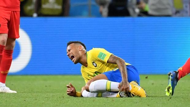 Neymar, ante Bélgica