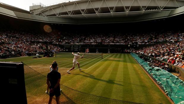 La pista Central de Wimbledon