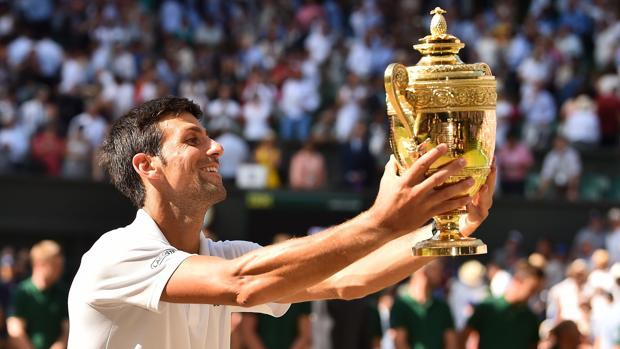 Djokovic: «Ver a mi hijo en el palco lo hace extraespecial»