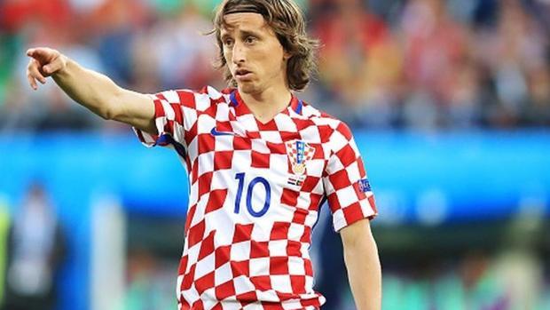Francia - Croacia. Modric