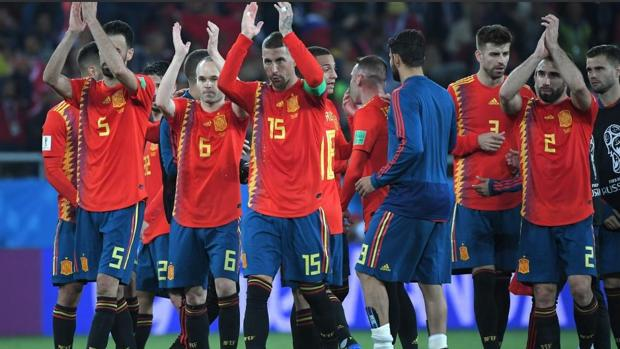 La selección española en el Mundial de Rusia