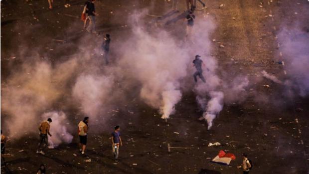 Disturbios y saqueos en París durante festejos tras el título en el Mundial de Rusia 2018