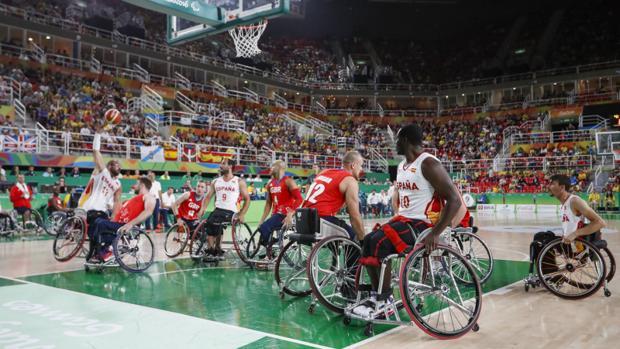 Partido de baloncesto de los Juegos Paralímpicos de Río