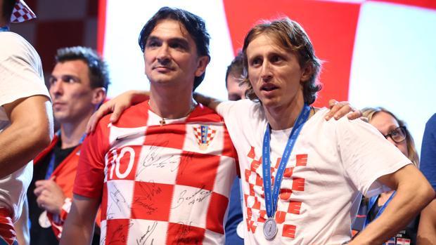 Dalic y Modric