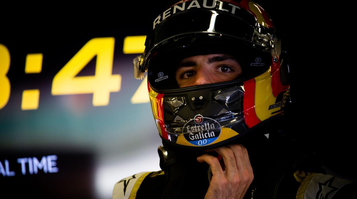 Renault busca alternativas a Carlos Sainz