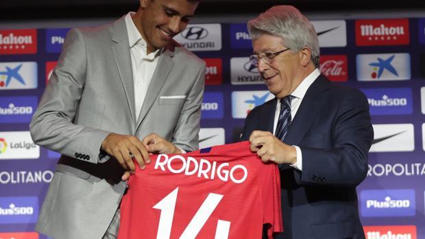 Camiseta Atlético de Madrid Rodrigo