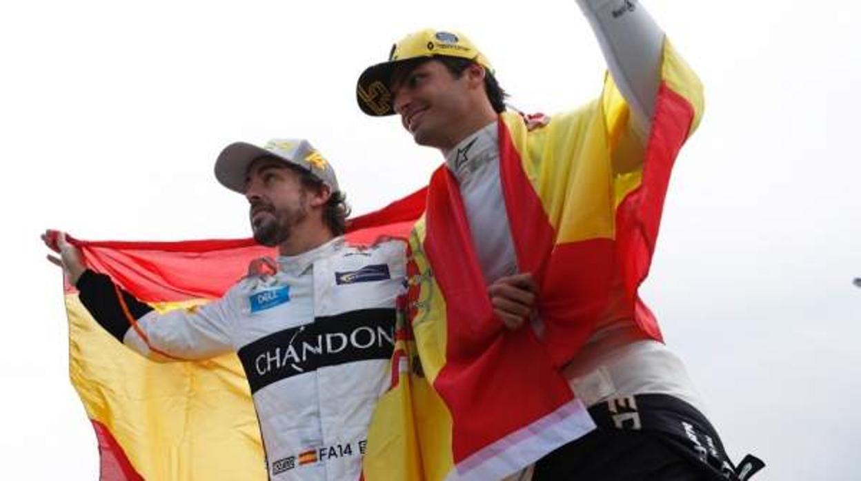 Sainz y Alonso podrían pilotar juntos en McLaren