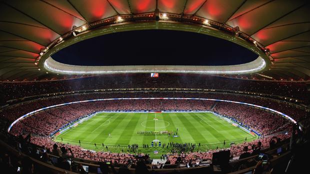 Una imagen del Wanda Metropolitano en su estreno