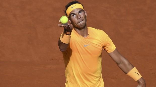 Rafa Nadal, contra Dominic Thiem en el Mutua Madrid Open