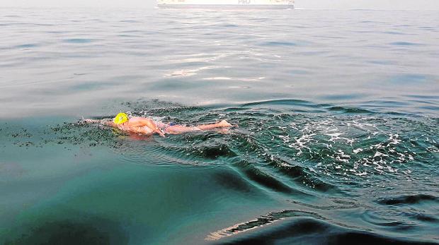 El nadador español Diego López